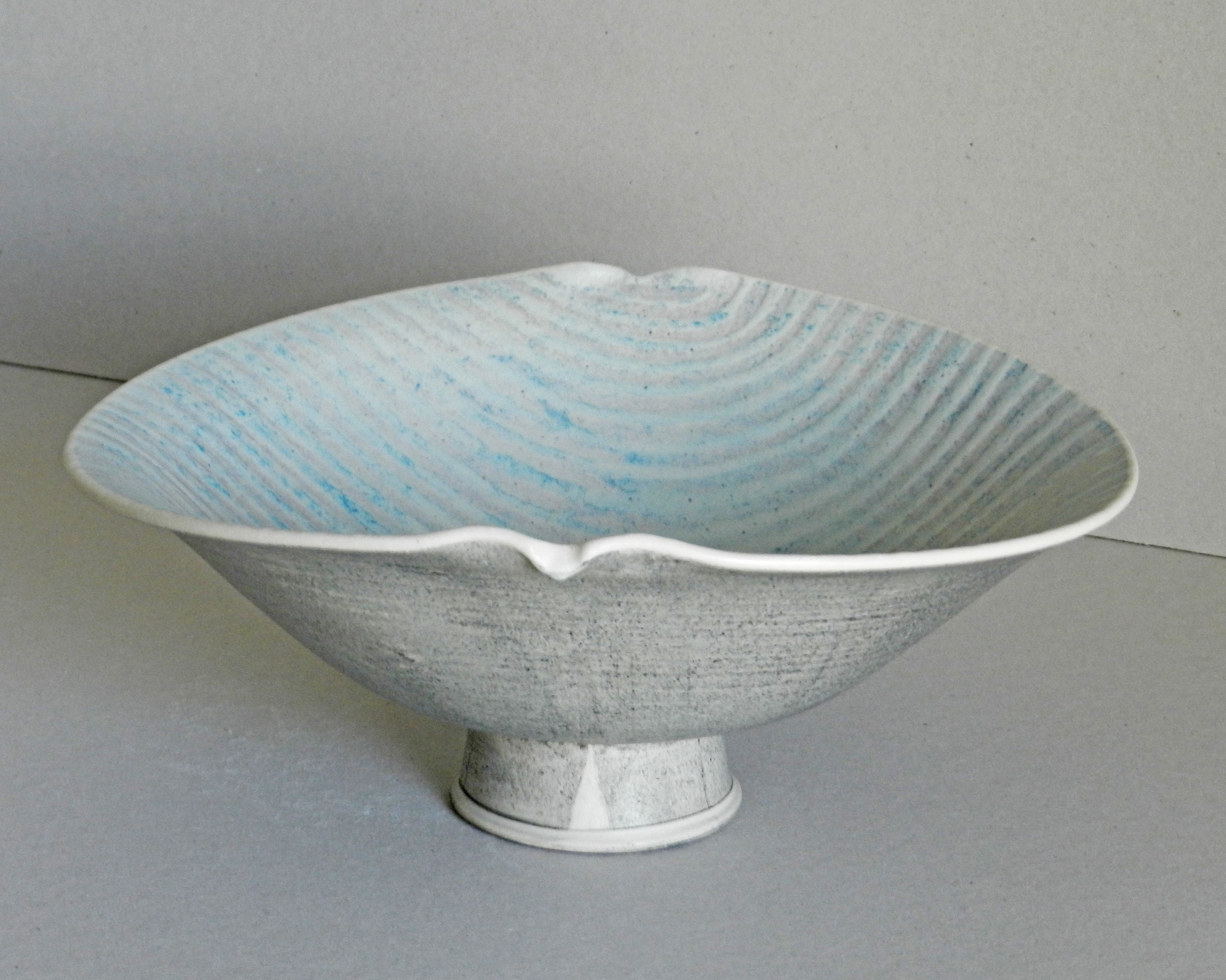 "<span class=""link fancybox-details-link""><a href=""/artists/243-christine-feiler/works/6872-christine-feiler-pedestal-bowl-2019/"">View Detail Page</a></span><div class=""artist""><strong>Christine Feiler</strong></div> b. 1948 <div class=""title""><em>Pedestal bowl</em>, 2019</div> <div class=""signed_and_dated"">Ceramicist mark on base</div> <div class=""medium"">Stoneware with enamels</div><div class=""price"">£320.00</div><div class=""copyright_line"">Copyright The Artist</div>"