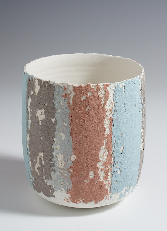 "<span class=""link fancybox-details-link""><a href=""/artists/79-clare-conrad/works/4758-clare-conrad-vessel-2017/"">View Detail Page</a></span><div class=""artist""><strong>Clare Conrad</strong></div> <div class=""title""><em>Vessel</em>, 2017</div> <div class=""medium"">wheel-thrown stoneware with vitreous slip and satin-matt glaze</div> <div class=""dimensions"">height 11 cm <br /> </div><div class=""price"">£130.00</div><div class=""copyright_line"">OwnArt: £ 13 x 10 Months, 0% APR</div>"