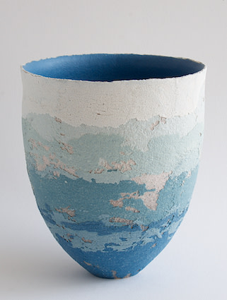 "<span class=""link fancybox-details-link""><a href=""/artists/79-clare-conrad/works/6424-clare-conrad-vessel-2019/"">View Detail Page</a></span><div class=""artist""><strong>Clare Conrad</strong></div> <div class=""title""><em>Vessel</em>, 2019</div> <div class=""medium"">Wheel-thrown stoneware with vitreous slip & satin-matt glaze.<br /> Ocean interior</div> <div class=""dimensions"">height 15.5 cm<br /> </div><div class=""copyright_line"">OwnArt: £ 20 x 10 Months, 0% APR</div>"