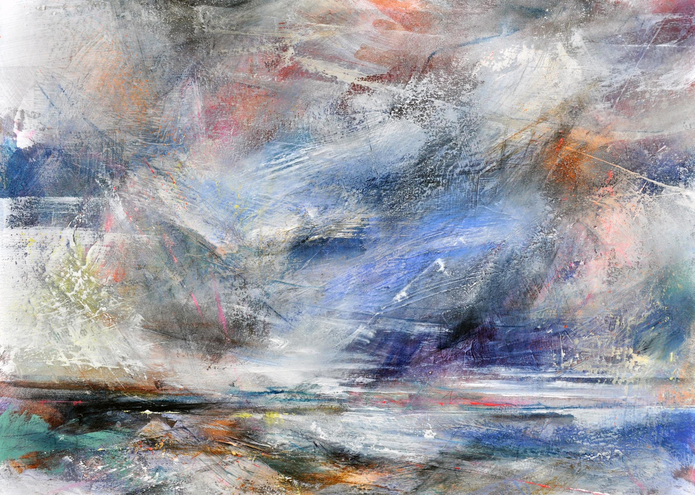 <span class=&#34;link fancybox-details-link&#34;><a href=&#34;/artists/90-freya-horsley/works/5539-freya-horsley-span-2018/&#34;>View Detail Page</a></span><div class=&#34;artist&#34;><strong>Freya Horsley</strong></div> <div class=&#34;title&#34;><em>Span</em>, 2018</div> <div class=&#34;signed_and_dated&#34;>signed on the reverse</div> <div class=&#34;medium&#34;>mixed media on canvas</div> <div class=&#34;dimensions&#34;>50 x 70 cm<br /> 19 3/4 x 27 1/2 inches</div><div class=&#34;price&#34;>£990.00</div><div class=&#34;copyright_line&#34;>£ 99 x 10 Months, OwnArt 0% APR</div>