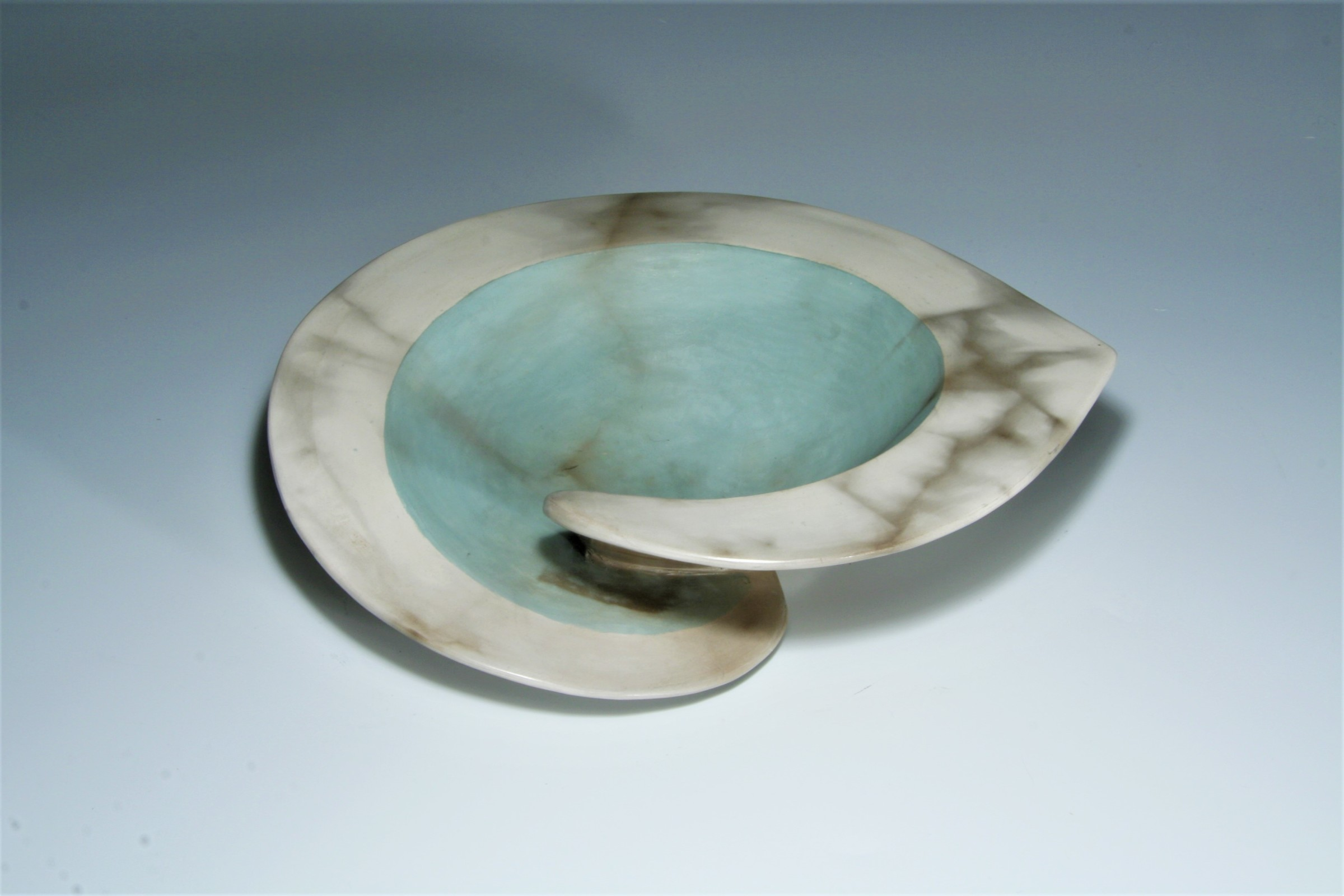"<span class=""link fancybox-details-link""><a href=""/artists/38-antonia-salmon/works/6649-antonia-salmon-green-dervish-bowl-2019/"">View Detail Page</a></span><div class=""artist""><strong>Antonia Salmon</strong></div> <div class=""title""><em>Green Dervish Bowl</em>, 2019</div> <div class=""signed_and_dated"">stamped AS</div> <div class=""medium"">ceramic</div><div class=""price"">£235.00</div><div class=""copyright_line"">OwnArt: £23.50 x 10 Months, 0% APR</div>"