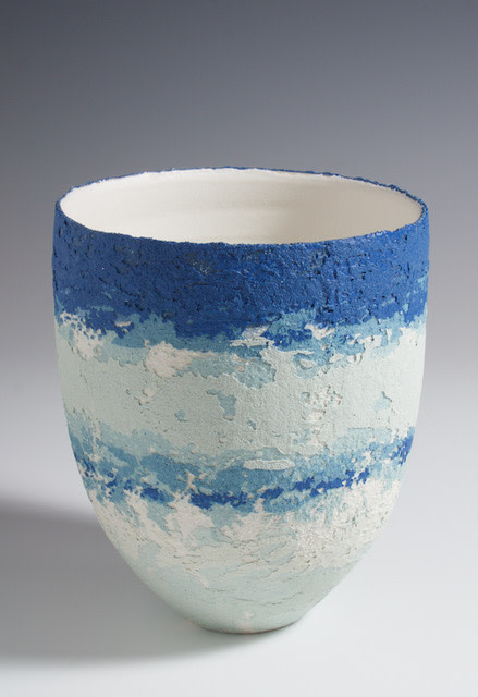 "<span class=""link fancybox-details-link""><a href=""/artists/79-clare-conrad/works/4024-clare-conrad-vessel-2017/"">View Detail Page</a></span><div class=""artist""><strong>Clare Conrad</strong></div> <div class=""title""><em>Vessel</em>, 2017</div> <div class=""medium"">wheel-thrown stoneware with vitreous slip and satin-matt glaze</div> <div class=""dimensions"">height 14 cm <br /> height 5 1/2 inches</div><div class=""copyright_line"">OwnArt: £ 22 x 10 Months, 0% APR</div>"