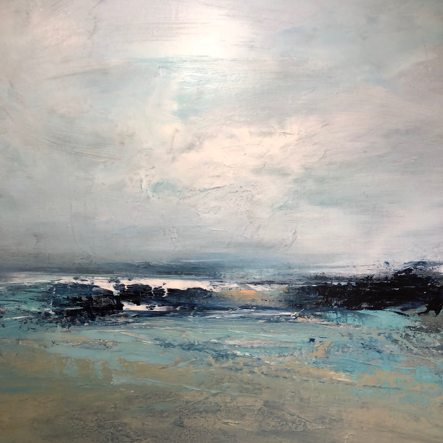 "<span class=""link fancybox-details-link""><a href=""/artists/41-erin-ward/works/6591-erin-ward-gentle-tide-2019/"">View Detail Page</a></span><div class=""artist""><strong>Erin Ward</strong></div> <div class=""title""><em>Gentle Tide</em>, 2019</div> <div class=""medium"">Acrylic on canvas</div> <div class=""dimensions"">h. 92 cm x w. 92 cm </div><div class=""price"">£1,790.00</div><div class=""copyright_line"">Ownart: £179 x 10 Months, 0% APR</div>"