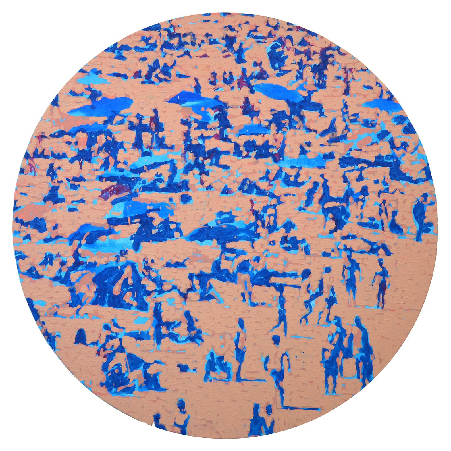 "<span class=""link fancybox-details-link""><a href=""/artists/42-nick-bodimeade/works/6385-nick-bodimeade-beach-tondo-2-2019/"">View Detail Page</a></span><div class=""artist""><strong>Nick Bodimeade</strong></div> (1957-) <div class=""title""><em>Beach Tondo 2</em>, 2019</div> <div class=""signed_and_dated"">signed, titled and dated on reverse</div> <div class=""medium"">oil on canvas</div> <div class=""dimensions"">120 cm dia.</div><div class=""price"">£2,800.00</div><div class=""copyright_line"">OwnArt: £ 250 x 10 Months, 0% APR + £300 deposit</div>"