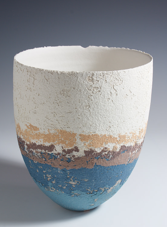 "<span class=""link fancybox-details-link""><a href=""/artists/79-clare-conrad/works/4754-clare-conrad-vessel-2017/"">View Detail Page</a></span><div class=""artist""><strong>Clare Conrad</strong></div> <div class=""title""><em>Vessel</em>, 2017</div> <div class=""medium"">wheel-thrown stoneware with vitreous slip and satin-matt glaze</div> <div class=""dimensions"">height 18 cm <br /> </div><div class=""copyright_line"">OwnArt: £ 30 x 10 Months, 0% APR</div>"