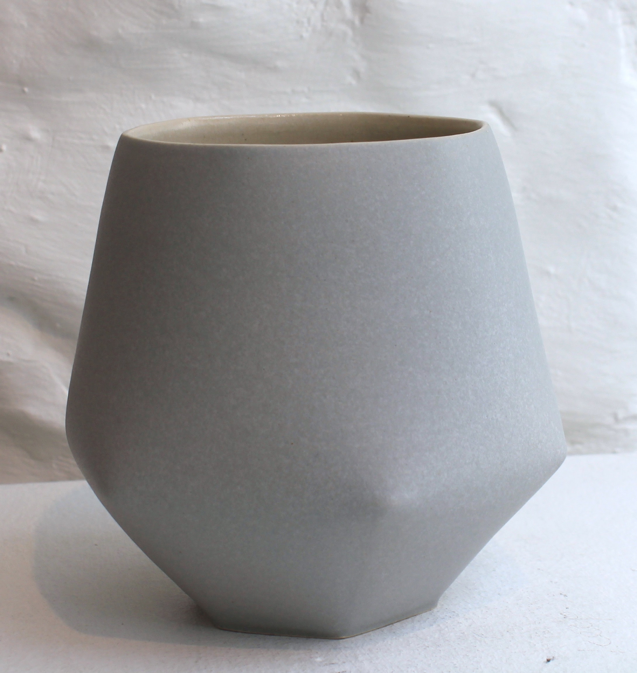 "<span class=""link fancybox-details-link""><a href=""/artists/33-sun-kim/works/5738-sun-kim-small-vase-2018/"">View Detail Page</a></span><div class=""artist""><strong>Sun Kim</strong></div> <div class=""title""><em>Small Vase</em>, 2018</div> <div class=""signed_and_dated"">stamped by the artist</div> <div class=""medium"">porcelain</div> <div class=""dimensions"">12 x 13 x 9 cm<br /> 4 3/4 x 5 1/8 x 3 1/2 inches</div><div class=""copyright_line"">OwnArt: £ 20 x 10 Months, 0% APR</div>"