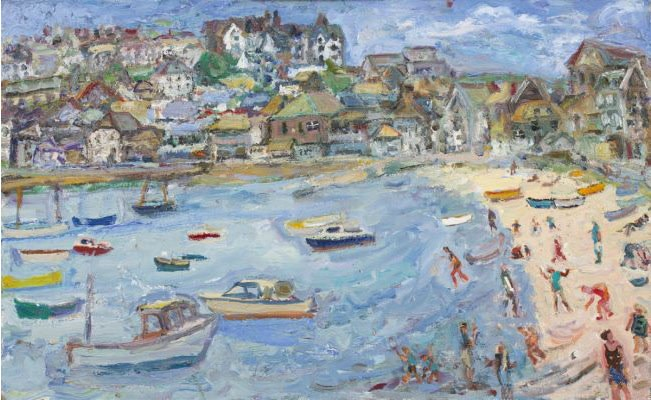 """<span class=""""link fancybox-details-link""""><a href=""""/artists/67-linda-weir/works/1357-linda-weir-perfect-day-high-summer-2014/"""">View Detail Page</a></span><div class=""""artist""""><strong>Linda Weir</strong></div> <div class=""""title""""><em>Perfect Day High Summer</em>, 2014</div> <div class=""""signed_and_dated"""">signed by the artist</div> <div class=""""medium"""">oil on board</div> <div class=""""dimensions"""">64 x 99 cm<br />25 1/4 x 39 inches</div><div class=""""copyright_line"""">£ 250 x 10 Months + £ 200 Deposit, OwnArt 0% APR</div>"""