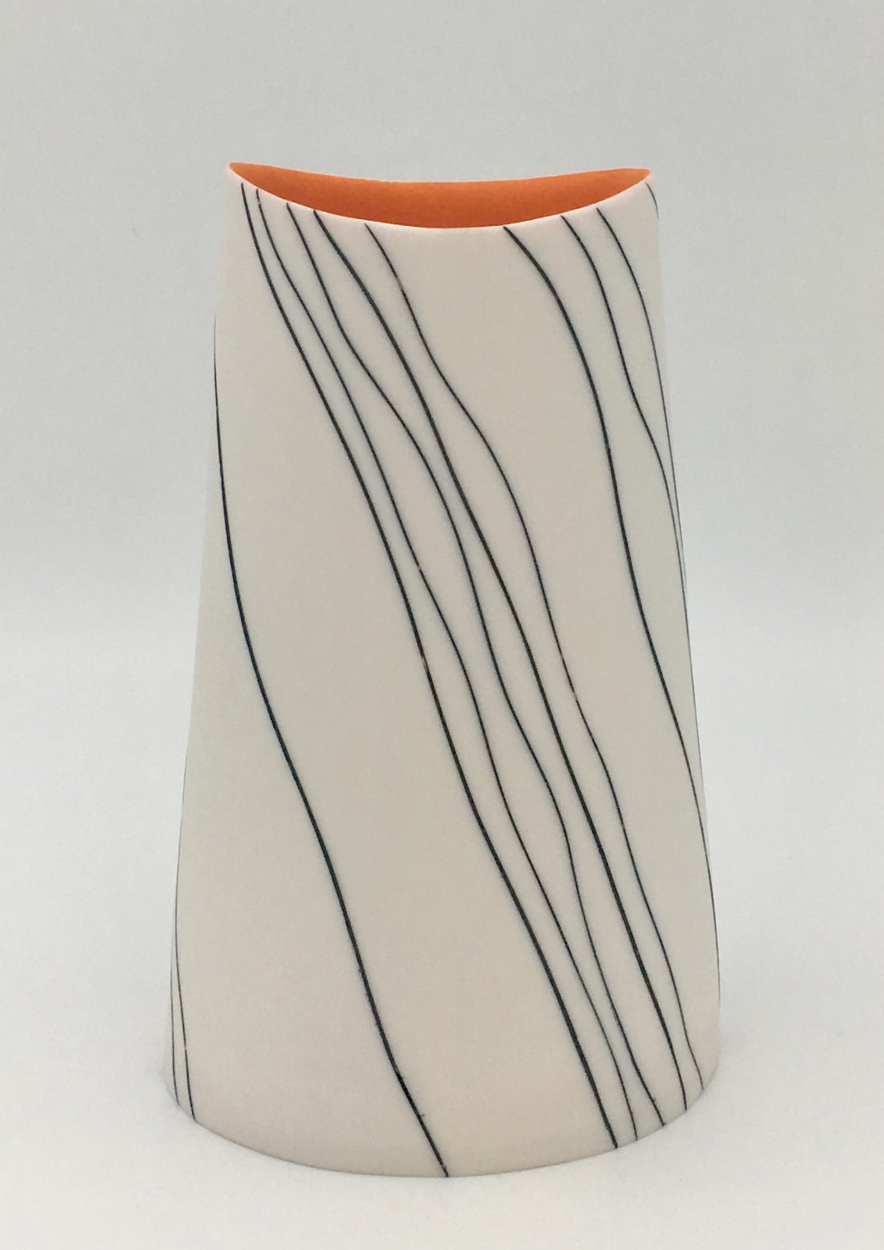 "<span class=""link fancybox-details-link""><a href=""/artists/195-lara-scobie/works/6527-lara-scobie-oval-vase-with-wave-stripes-2019/"">View Detail Page</a></span>Lara Scobie   Oval Vase with Wave Stripes, 2019   Porcelain  <div class=""copyright_line"">Own Art: £24 x 10 Months, 0% APR</div>"