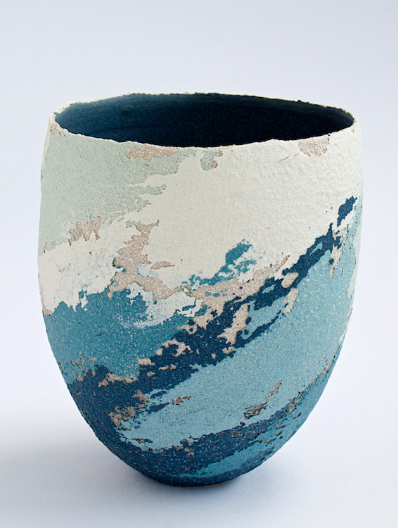 "<span class=""link fancybox-details-link""><a href=""/artists/79-clare-conrad/works/5983-clare-conrad-vessel-2018/"">View Detail Page</a></span><div class=""artist""><strong>Clare Conrad</strong></div> <div class=""title""><em>Vessel</em>, 2018</div> <div class=""medium"">wheel-thrown stoneware with vitreous slip & satin-matt glaze</div> <div class=""dimensions"">height 14 cm</div><div class=""copyright_line"">OwnArt: £ 16 x 10 Months, 0% APR</div>"