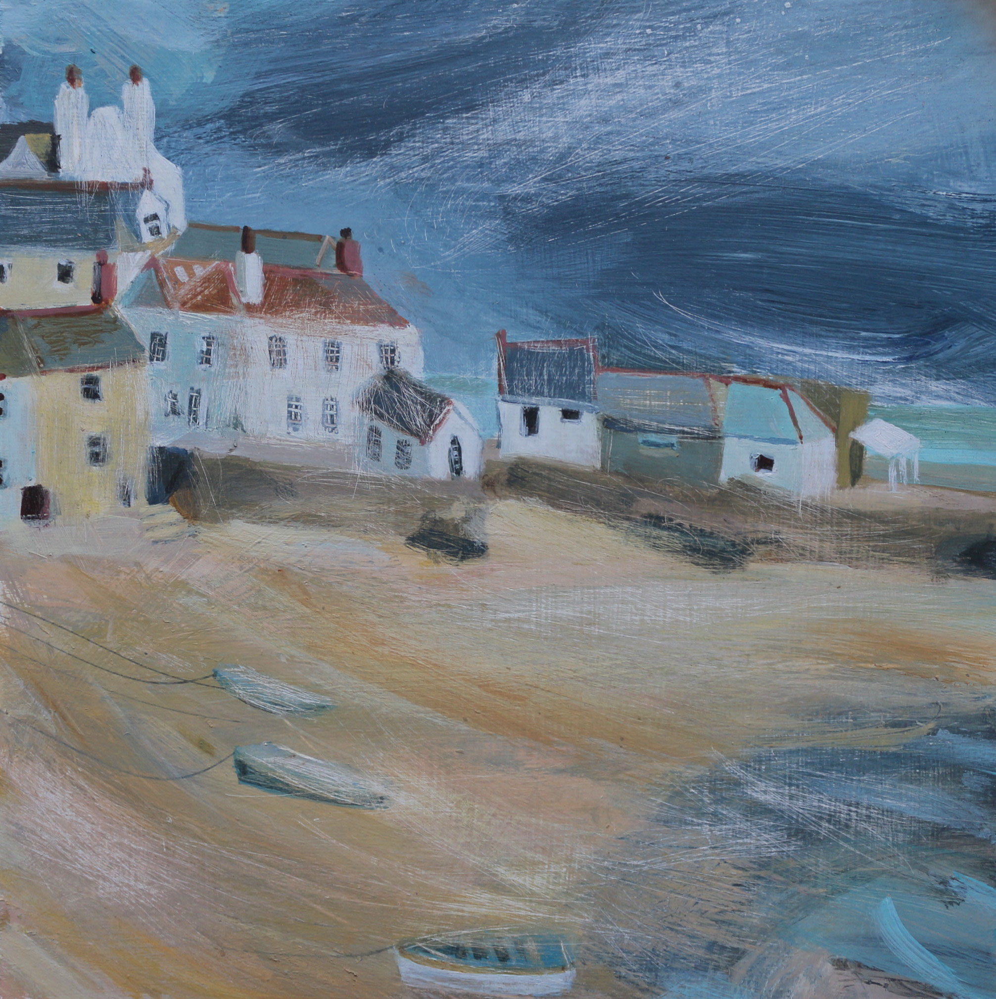 <span class=&#34;link fancybox-details-link&#34;><a href=&#34;/artists/177-jane-askey/works/5510-jane-askey-weather-approaching-st-ives-harbour-2018/&#34;>View Detail Page</a></span><div class=&#34;artist&#34;><strong>Jane Askey</strong></div> <div class=&#34;title&#34;><em>Weather Approaching St Ives Harbour</em>, 2018</div> <div class=&#34;signed_and_dated&#34;>signed</div> <div class=&#34;medium&#34;>mixed media on gesso board</div> <div class=&#34;dimensions&#34;>49 x 49 cm<br /> 19 1/4 x 19 1/4 inches</div><div class=&#34;copyright_line&#34;>OwnArt: £ 55 x 10 Months, 0% APR</div>