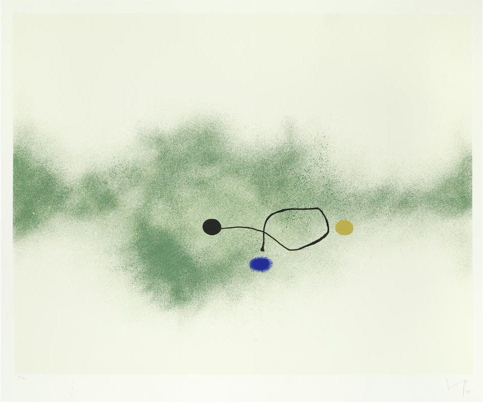 "<span class=""link fancybox-details-link""><a href=""/artists/84-victor-pasmore-ch-cbe/works/5722-victor-pasmore-ch-cbe-milky-way-lynton-g.33-1986/"">View Detail Page</a></span><div class=""artist""><strong>Victor Pasmore CH CBE</strong></div> 1908–1998 <div class=""title""><em>Milky Way (Lynton G.33) </em>, 1986</div> <div class=""signed_and_dated"">signed and numbered in pencil</div> <div class=""medium"">silkscreen print in colours on wove paper with full margins</div> <div class=""dimensions"">image size: 59.5 x 73 cm <br /> 23 3/8 x 28 3/4 in</div> <div class=""edition_details"">edition number 32 of 70</div><div class=""copyright_line"">© The Estate of Victor Pasmore</div>"