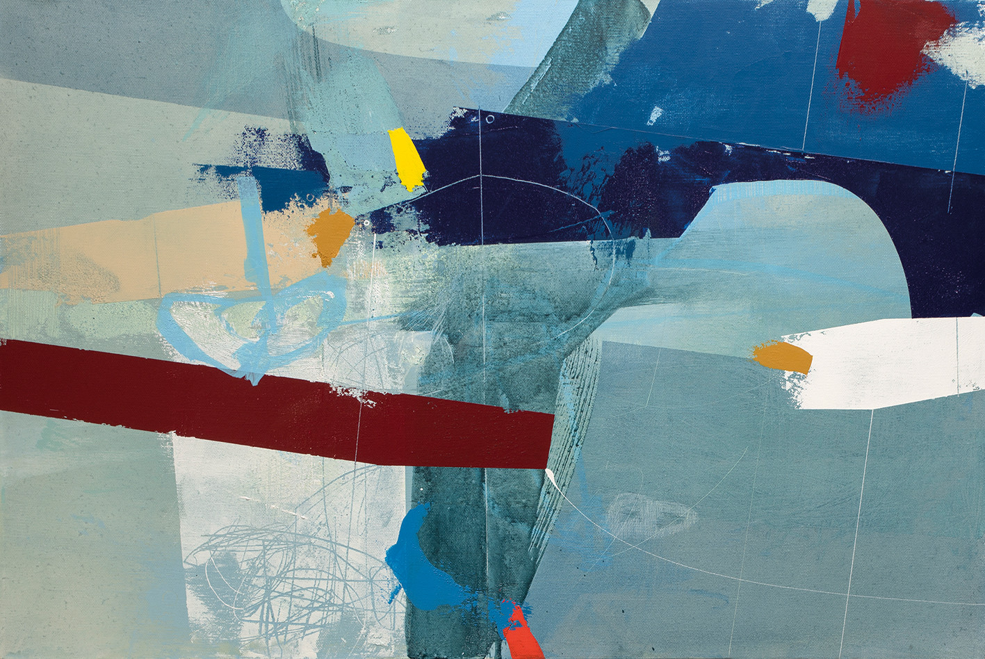 <span class=&#34;link fancybox-details-link&#34;><a href=&#34;/artists/77-andrew-bird/works/6199-andrew-bird-into-the-blue-2019/&#34;>View Detail Page</a></span><div class=&#34;artist&#34;><strong>Andrew Bird</strong></div> <div class=&#34;title&#34;><em>Into the Blue</em>, 2019</div> <div class=&#34;signed_and_dated&#34;>signed, titled and dated on reverse</div> <div class=&#34;medium&#34;>acrylic on canvas</div> <div class=&#34;dimensions&#34;>h 50.5 x w 76.5 cm<br /> 19 7/8 x 30 1/8 in</div><div class=&#34;price&#34;>£1,600.00</div><div class=&#34;copyright_line&#34;>Own Art: £ 160 x 10 Months, 0% APR</div>
