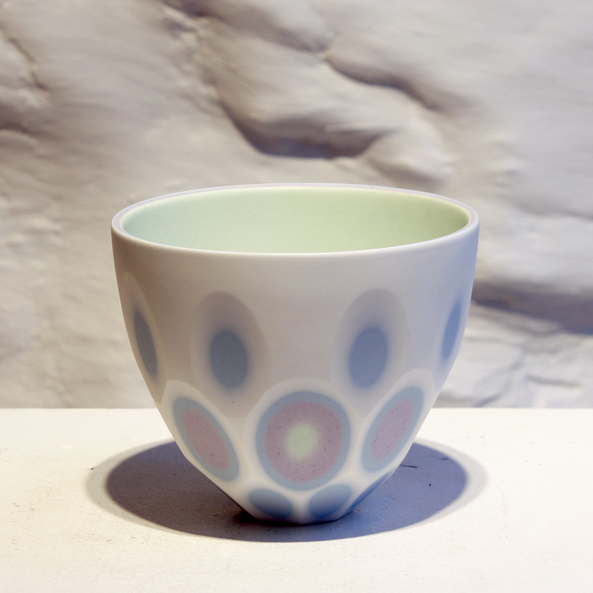 "<span class=""link fancybox-details-link""><a href=""/artists/60-sasha-wardell/works/6022-sasha-wardell-four-layers-space-bowl-2018/"">View Detail Page</a></span><div class=""artist""><strong>Sasha Wardell</strong></div> <div class=""title""><em>Four Layers Space Bowl</em>, 2018</div> <div class=""medium"">porcelain</div><div class=""copyright_line"">Copyright The Artist</div>"