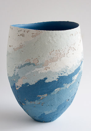 "<span class=""link fancybox-details-link""><a href=""/artists/79-clare-conrad/works/6423-clare-conrad-large-vessel-2019/"">View Detail Page</a></span><div class=""artist""><strong>Clare Conrad</strong></div> <div class=""title""><em>Large Vessel</em>, 2019</div> <div class=""medium"">Wheel-thrown stoneware with vitreous slip & satin-matt glaze.<br /> Scooped rim and ocean interior</div> <div class=""dimensions"">height 21 cm<br /> </div><div class=""copyright_line"">OwnArt: £ 33 x 10 Months, 0% APR</div>"