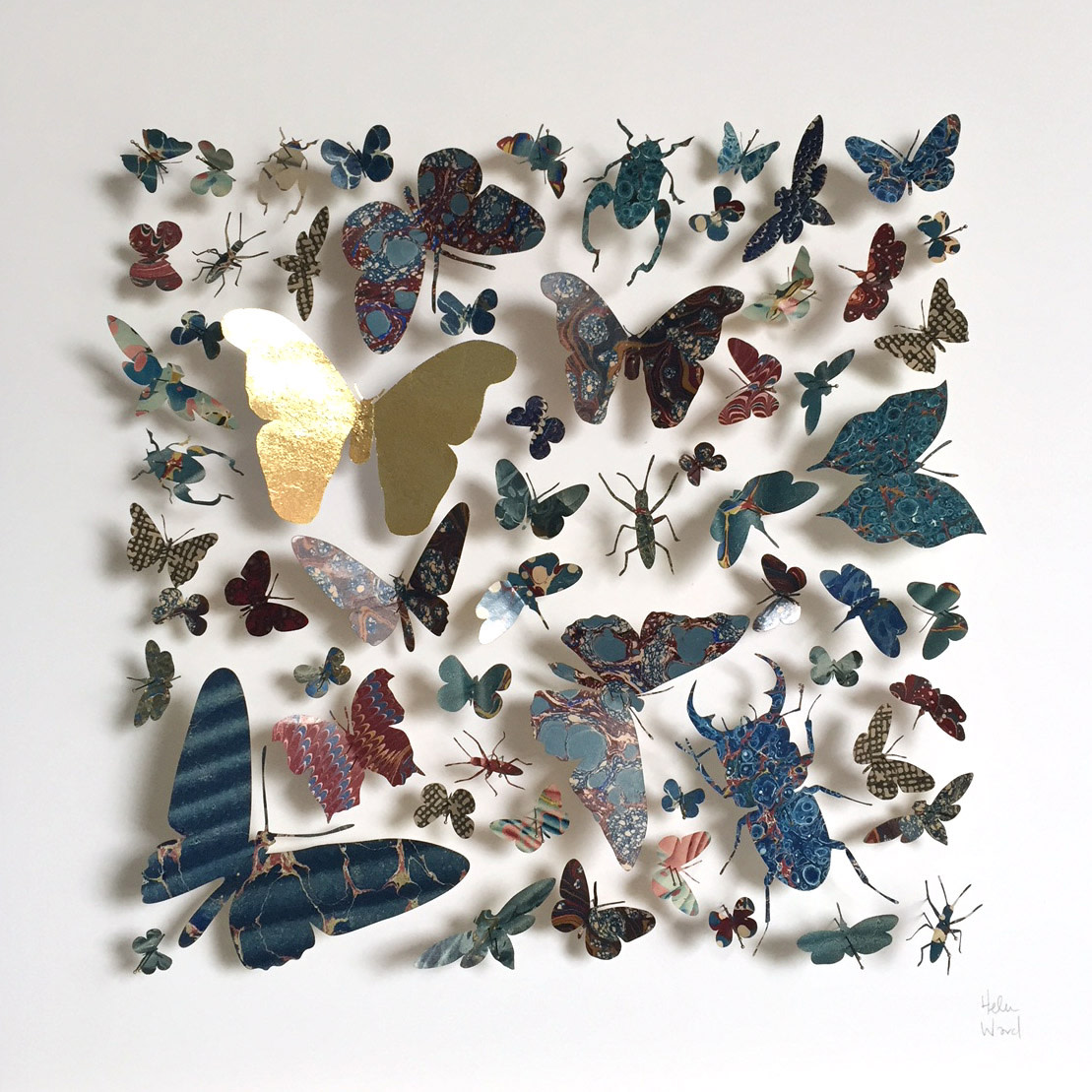 <span class=&#34;link fancybox-details-link&#34;><a href=&#34;/artists/142-helen-ward/works/6240-helen-ward-morpho-square-3-2019/&#34;>View Detail Page</a></span><div class=&#34;artist&#34;><strong>Helen Ward</strong></div> <div class=&#34;title&#34;><em>Morpho Square 3</em>, 2019</div> <div class=&#34;medium&#34;>Victorian entomology drawer, hand-marbled papers, gold leaf, enamel pins</div> <div class=&#34;dimensions&#34;>40 x 40 cm</div><div class=&#34;price&#34;>£680.00</div><div class=&#34;copyright_line&#34;>Own Art: £ 68 x 10 Monthly 0% APR Representative Payments</div>