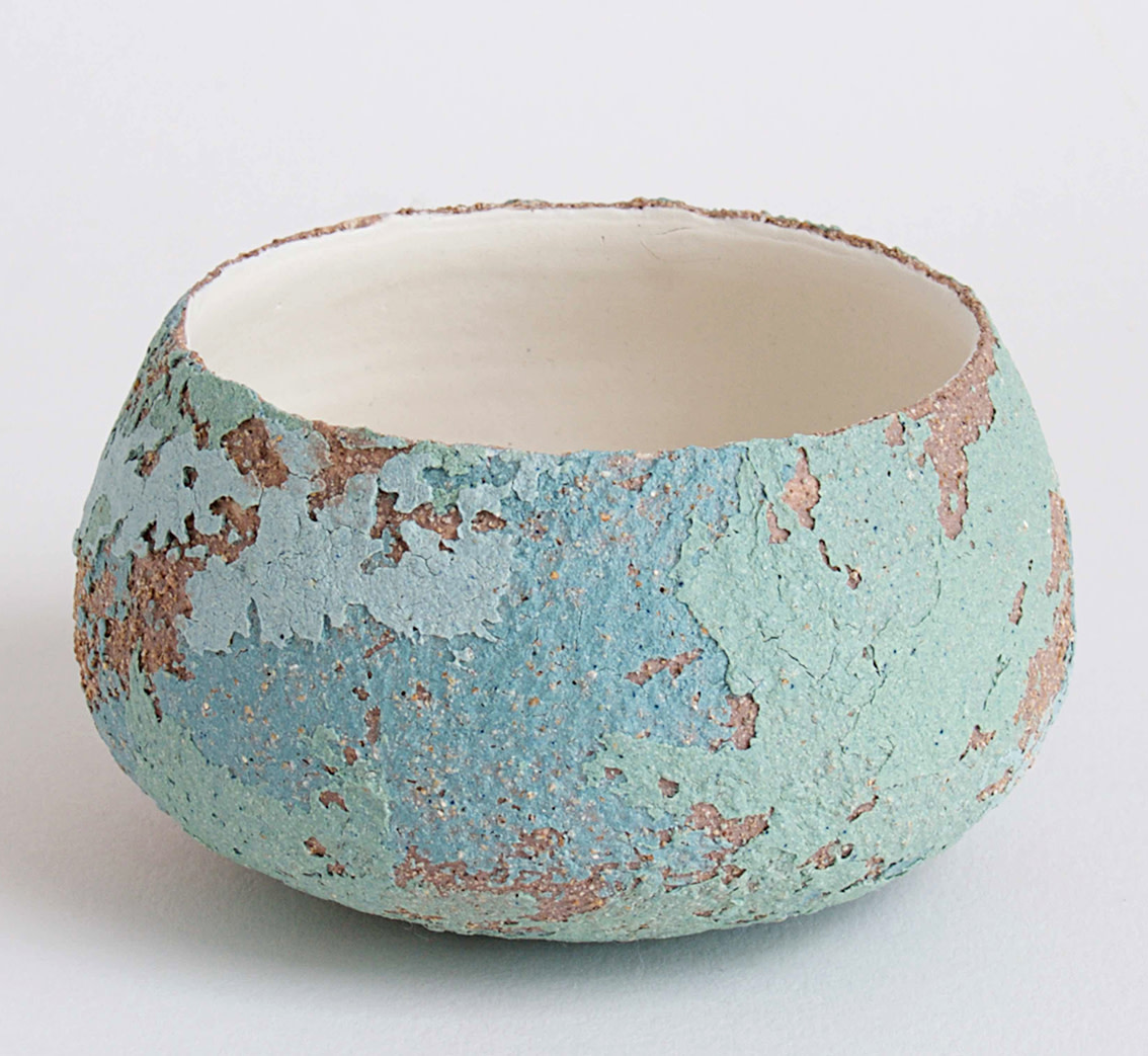 "<span class=""link fancybox-details-link""><a href=""/artists/79-clare-conrad/works/5405-clare-conrad-tiny-bowl-2018/"">View Detail Page</a></span><div class=""artist""><strong>Clare Conrad</strong></div> <div class=""title""><em>Tiny Bowl</em>, 2018</div> <div class=""medium"">wheel-thrown stoneware with vitreous slip & satin-matt glaze</div> <div class=""dimensions"">d. 10cm</div><div class=""copyright_line"">Copyright The Artist</div>"