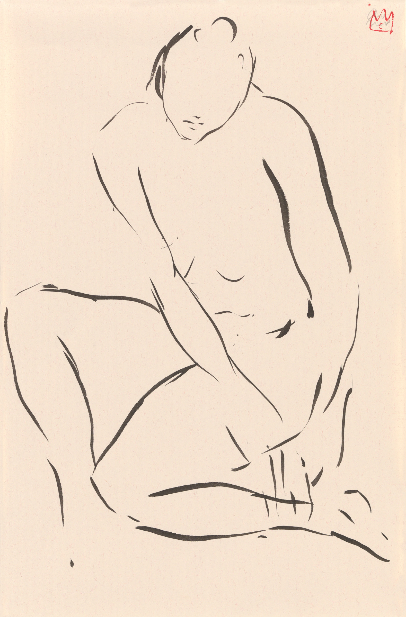 <span class=&#34;link fancybox-details-link&#34;><a href=&#34;/artists/47-cathalijn-wouters/works/4602-cathalijn-wouters-seated-nude-ii-2018/&#34;>View Detail Page</a></span><div class=&#34;artist&#34;><strong>Cathalijn Wouters</strong></div> <div class=&#34;title&#34;><em>Seated Nude - II</em>, 2018</div> <div class=&#34;medium&#34;>Ink on paper in perspex box</div> <div class=&#34;dimensions&#34;>63 x 48 cm</div>