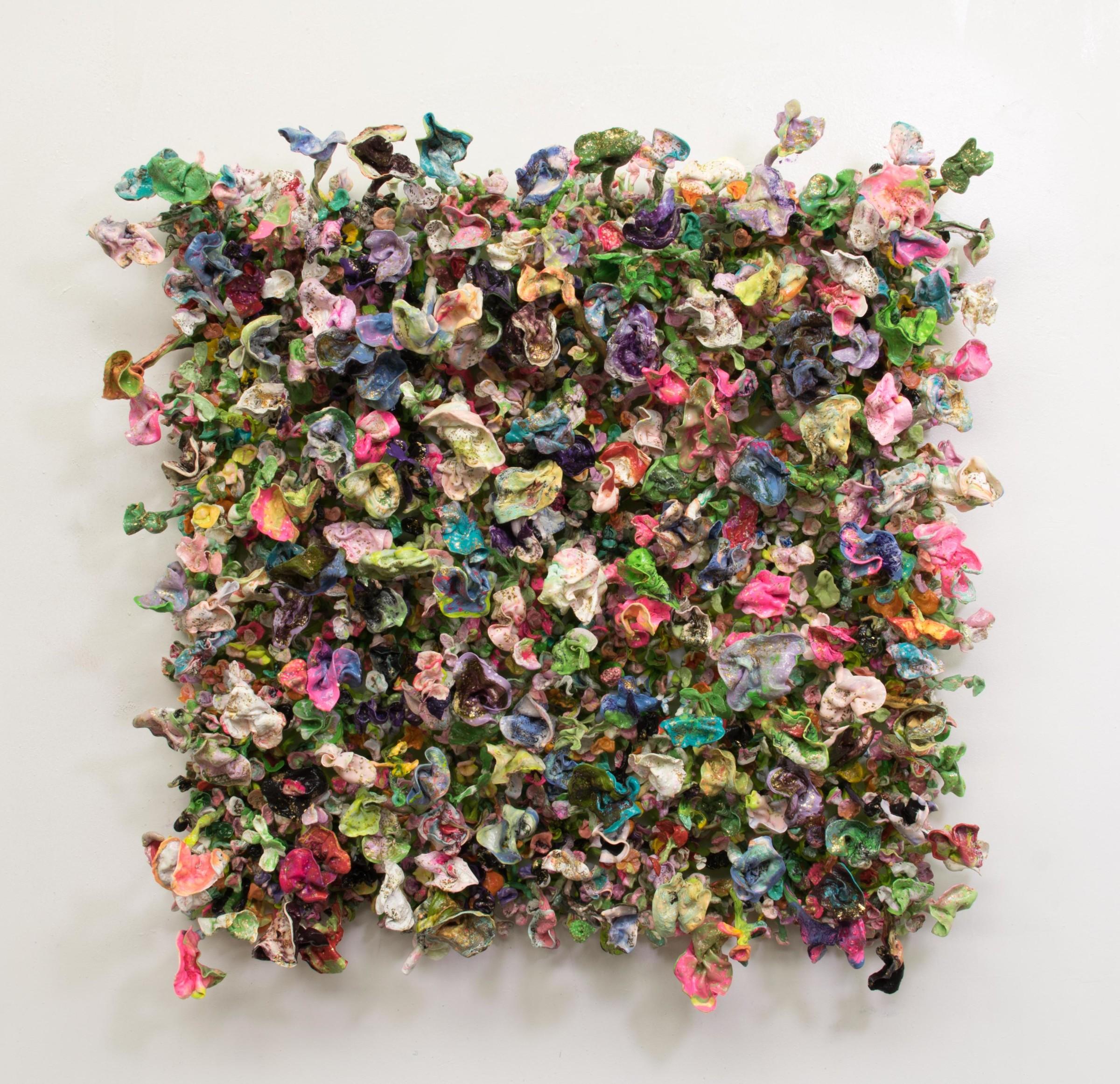 "<span class=""link fancybox-details-link""><a href=""/artists/42-stefan-gross/works/5005-stefan-gross-flower-bonanza-fin-de-siecle-2018/"">View Detail Page</a></span><div class=""artist""><strong>Stefan Gross</strong></div> <div class=""title""><em>Flower Bonanza - fin de siecle</em>, 2018</div> <div class=""medium"">Oil Plastic</div> <div class=""dimensions"">140 x 140 cm</div><div class=""price"">€12,000.00</div>"