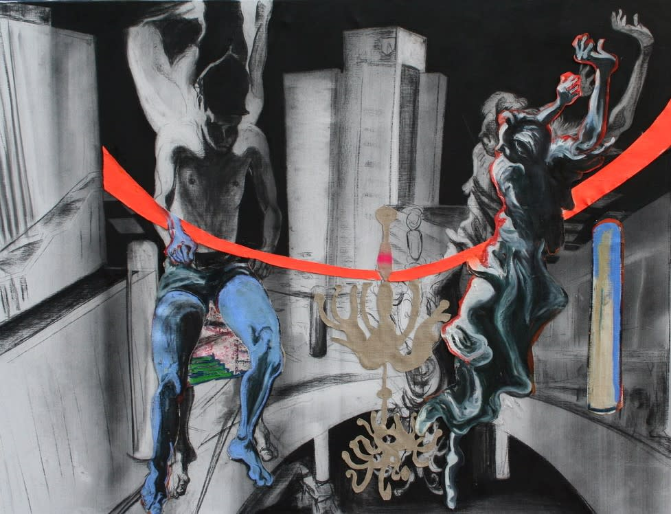<span class=&#34;link fancybox-details-link&#34;><a href=&#34;/exhibitions/14/works/artworks5156/&#34;>View Detail Page</a></span><div class=&#34;artist&#34;><strong>Rob Visje</strong></div><div class=&#34;title&#34;><em>Swimming in Architecture </em></div><div class=&#34;dimensions&#34;>150 x 200 cm </div>