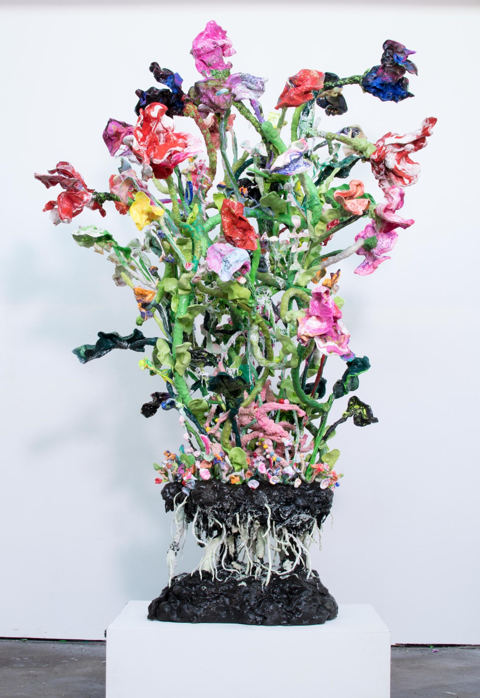 "<span class=""link fancybox-details-link""><a href=""/artists/42-stefan-gross/works/5031-stefan-gross-stranger-flowers-vi-2018/"">View Detail Page</a></span><div class=""artist""><strong>Stefan Gross</strong></div> <div class=""title""><em>Stranger Flowers - VI</em>, 2018</div> <div class=""medium"">Oil Plastic<br /> <br /> Unicum</div> <div class=""dimensions"">220 x 100 x 100 cm</div><div class=""price"">€25,000.00</div>"