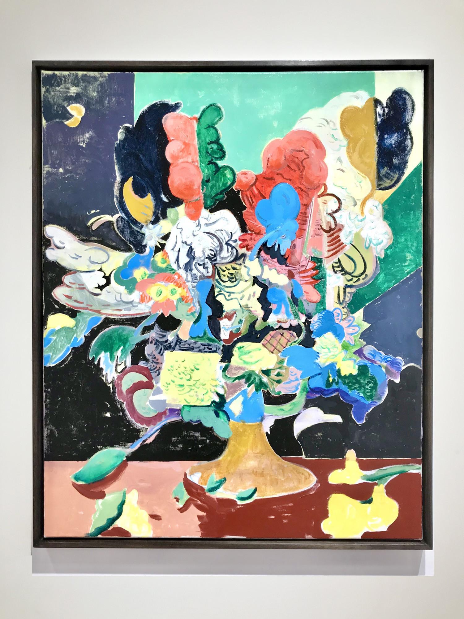 "<span class=""link fancybox-details-link""><a href=""/artists/50-david-price/works/498/"">View Detail Page</a></span><div class=""artist""><strong>David Price</strong></div> b.1972 <div class=""title""><em>Still Life, June</em>, 2018</div> <div class=""medium"">Oil on canvas</div> <div class=""dimensions"">100 x 81cm</div><div class=""copyright_line"">Copyright The Artist</div>"