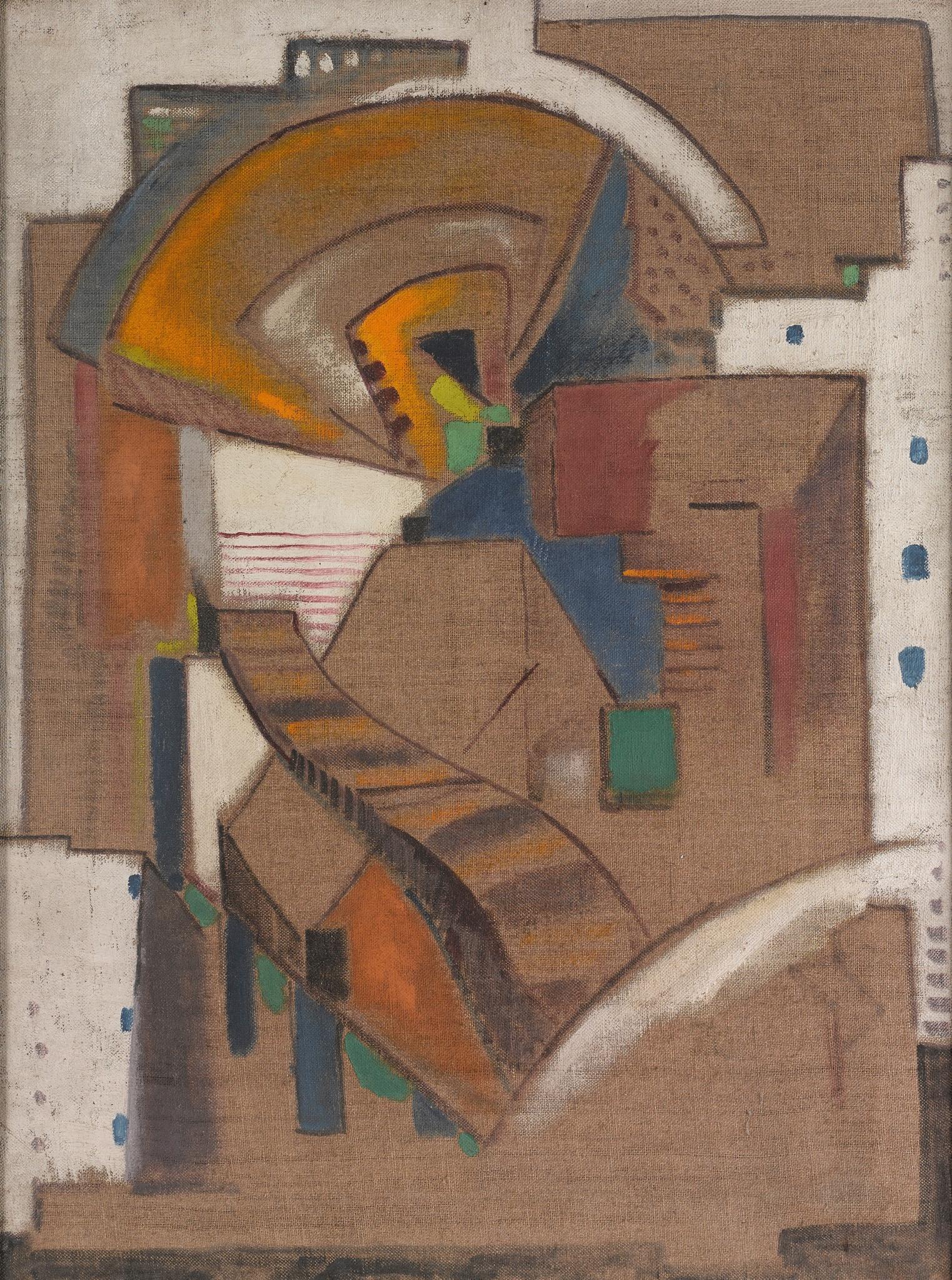 "<span class=""link fancybox-details-link""><a href=""/artists/27-harry-phelan-gibb/works/209/"">View Detail Page</a></span><div class=""artist""><strong>Harry Phelan Gibb</strong></div> 1870 - 1948 <div class=""title""><em>Abstract Composition</em>, c. 1912</div> <div class=""medium"">oil on canvas</div> <div class=""dimensions"">24 1/8 x 17 3/4 in<br />61 x 45 cm</div><div class=""copyright_line"">Copyright The Artist</div>"