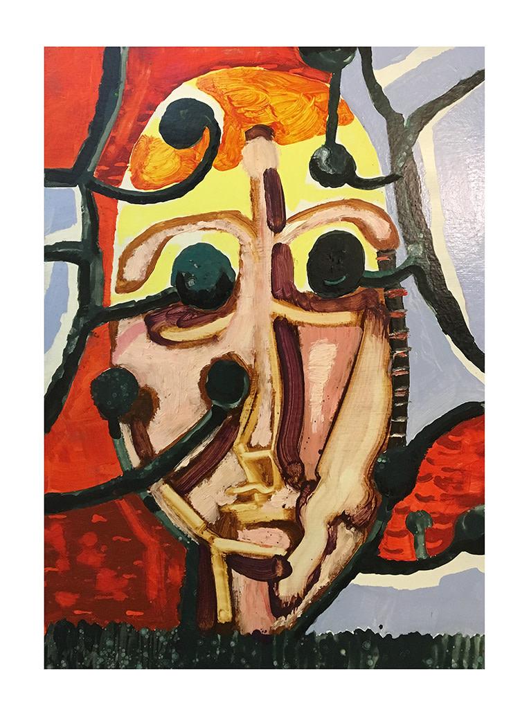 "<span class=""link fancybox-details-link""><a href=""/artists/56-laurence-owen/works/457/"">View Detail Page</a></span><div class=""artist""><strong>Laurence Owen</strong></div> b.1984 <div class=""title""><em>Bust Through Trees</em>, 2016</div> <div class=""medium"">oil on fabric on panel</div> <div class=""dimensions"">35 3/8 x 24 3/4 in<br /> 90 x 63 cm</div><div class=""copyright_line"">Copyright The Artist</div>"