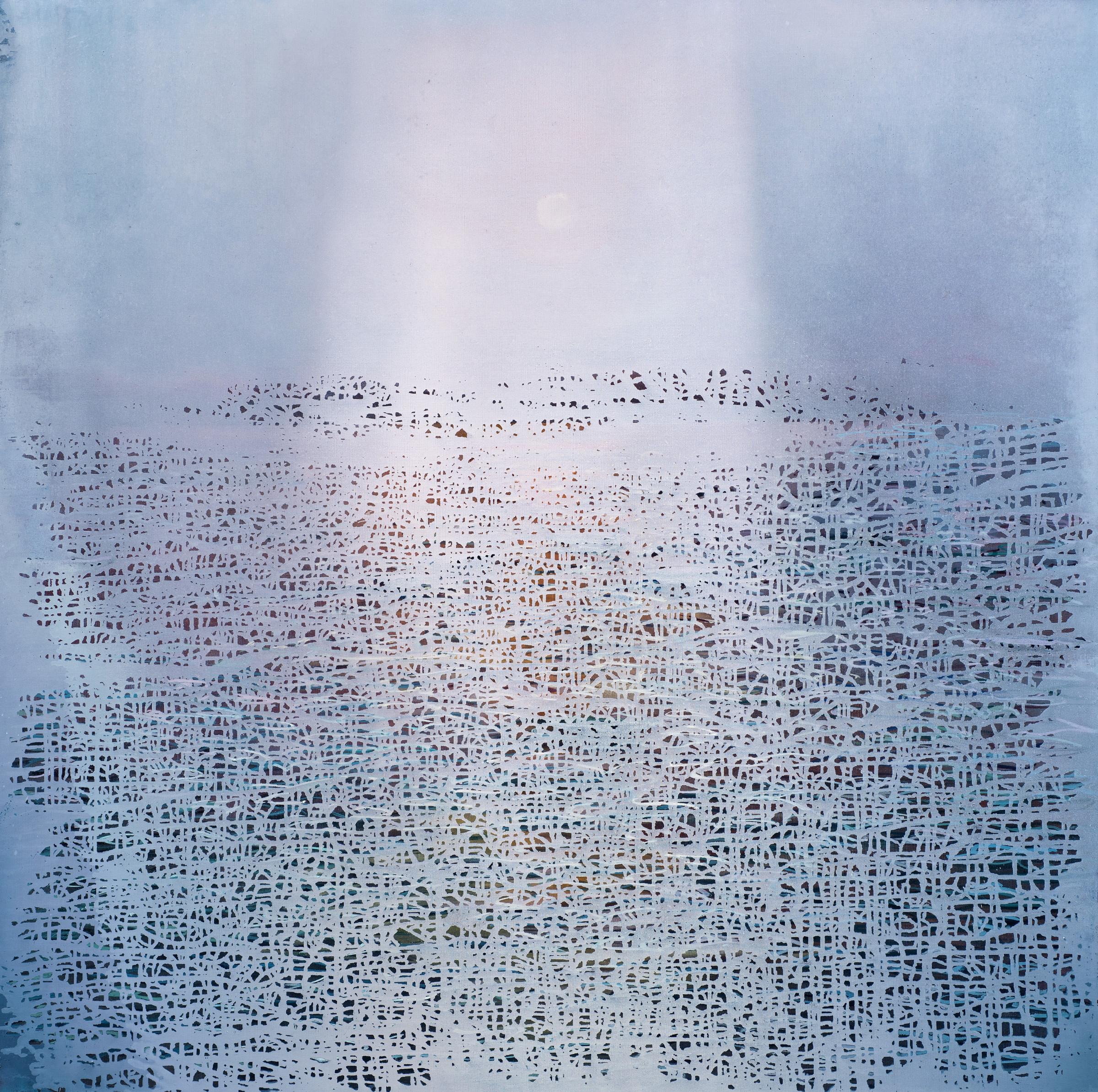<span class=&#34;link fancybox-details-link&#34;><a href=&#34;/artists/71-luke-elwes/works/881/&#34;>View Detail Page</a></span><div class=&#34;artist&#34;><strong>Luke Elwes</strong></div> b.1961 <div class=&#34;title&#34;><em>Ganga 12</em>, 2018</div> <div class=&#34;signed_and_dated&#34;>signed and dated verso </div> <div class=&#34;medium&#34;>oil on canvas</div> <div class=&#34;dimensions&#34;>120 x 120cm</div><div class=&#34;copyright_line&#34;>Copyright the artist</div>