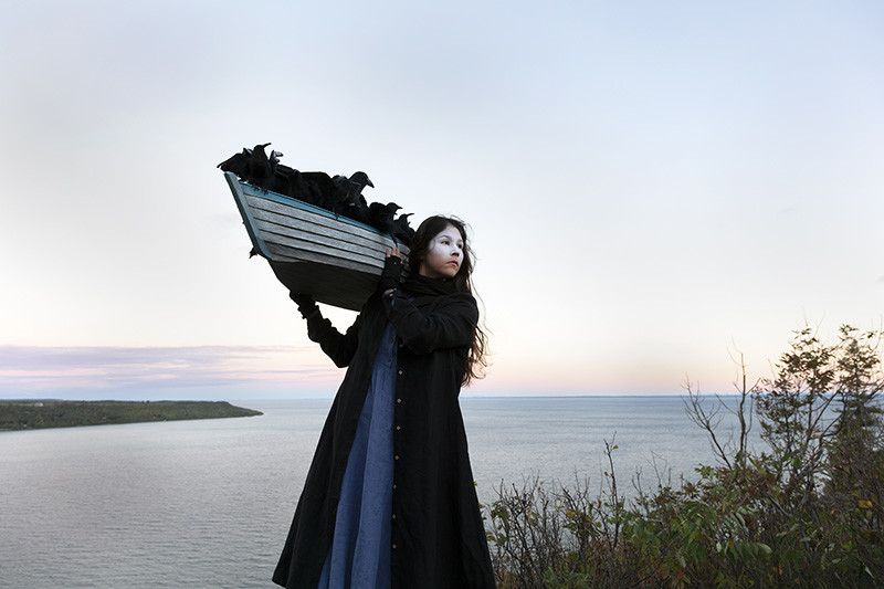 "<span class=""link fancybox-details-link""><a href=""/artists/122/series/as-immense-as-the-sky/34381-meryl-mcmaster-on-the-edge-of-this-immensity-2019/"">View Detail Page</a></span><div class=""artist""><strong>Meryl McMaster</strong></div> b. 1988 <div class=""title""><em>On the Edge of This Immensity</em>, 2019</div> <div class=""signed_and_dated"">From the series ""As Immense as the Sky""<br /> Signed, titled, dated, and editioned, au mount verso</div> <div class=""medium"">Chromogenic print flush mounted to Aluminum Composite Panel</div> <div class=""dimensions"">40 x 60 inch (101.60 x 152.40 cm)</div> <div class=""edition_details"">Edition of 5 + 2 APs</div>"