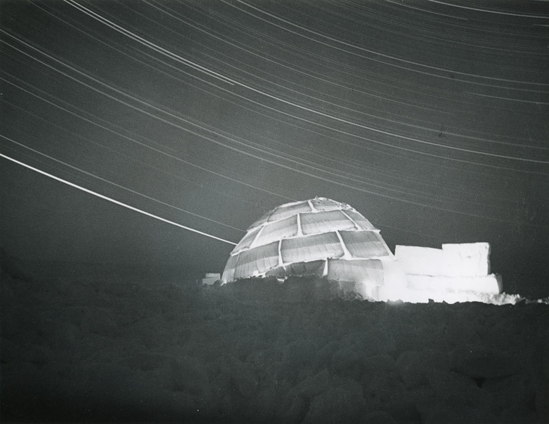 "<span class=""link fancybox-details-link""><a href=""/artists/62-richard-harrington/works/20121-richard-harrington-untitled-igloo-at-night-1952/"">View Detail Page</a></span><div class=""artist""><strong>Richard Harrington</strong></div> 1911-2005 <div class=""title""><em>Untitled [Igloo at night]</em>, 1952</div> <div class=""signed_and_dated"">Artist stamp, in ink, au verso<br /> Printed circa 1952</div> <div class=""medium"">Gelatin silver print</div> <div class=""dimensions"">6 ¾ x 8 ¾ inch (17.15 x 22.23 cm) image<br /> 8 x 10 inch (20.32 x 25.40 cm) paper</div> <div class=""edition_details""></div><div class=""copyright_line""> </div>"