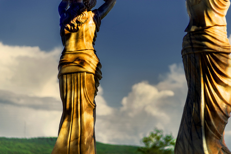 """<span class=""""link fancybox-details-link""""><a href=""""/artists/108/series/chateau/34142-john-lucas-caryatids-after-storm-2017/"""">View Detail Page</a></span><div class=""""artist""""><strong>John Lucas</strong></div> <div class=""""title""""><em>Caryatids After Storm</em>, 2017</div> <div class=""""signed_and_dated"""">From the series """"Chateau""""<br /> Signed, titled, dated, and editioned, au mount verso<br /> Printed in 2018</div> <div class=""""medium"""">Pigment print on archival paper mounted to archival board</div> <div class=""""dimensions"""">42 x 28 inch (106.68 x 71.12 cm) image<br /> 48 x  33 ½ inch (121.92 x 85.09 cm) paper/board</div> <div class=""""edition_details"""">Edition of 15 (#1/15)</div>"""