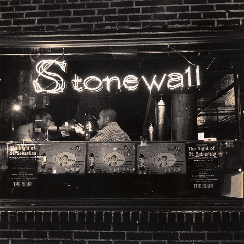 "<span class=""link fancybox-details-link""><a href=""/artists/70-robert-giard/works/34630-robert-giard-reincarnation-of-the-stonewall-inn-new-york-city-1987/"">View Detail Page</a></span><div class=""artist""><strong>Robert Giard</strong></div> 1939-2002 <div class=""title""><em>Reincarnation of the Stonewall Inn, New York City</em>, 1987</div> <div class=""signed_and_dated"">Annotated, in pencil, au verso<br /> Estate Accession #0016d [GS]<br /> Provenance: Direct from the Estate of Robert Giard, New York<br /> Printed circa 1987</div> <div class=""medium"">Gelatin silver print</div> <div class=""dimensions"">14 ⅛ x 14 ⅛ inch (35.88 x 35.88 cm) image<br /> 19 ¾ x 15 ⅞ inch (50.17 x 40.32 cm) paper</div> <div class=""edition_details""></div>"