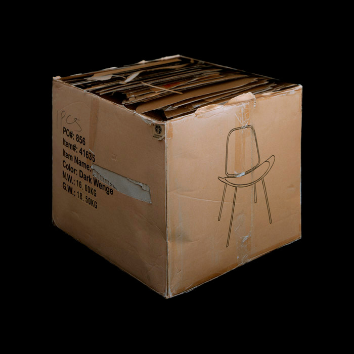 "<span class=""link fancybox-details-link""><a href=""/artists/76-anthony-koutras/works/15192-anthony-koutras-cardboard-box-2009/"">View Detail Page</a></span><div class=""artist""><strong>Anthony Koutras</strong></div> b. 1979 <div class=""title""><em>Cardboard Box</em>, 2009</div> <div class=""signed_and_dated"">From the series ""Explication""<br /> Signed, titled, dated, and editioned, in ink, au mount verso<br /> Printed in 2009</div> <div class=""medium"">Chromogenic print flush mounted to Dibond</div> <div class=""dimensions"">42 x 42 inch (106.68 x 106.68 cm)</div> <div class=""edition_details"">Edition of 10 (#AP/10)</div><div class=""copyright_line""> </div>"