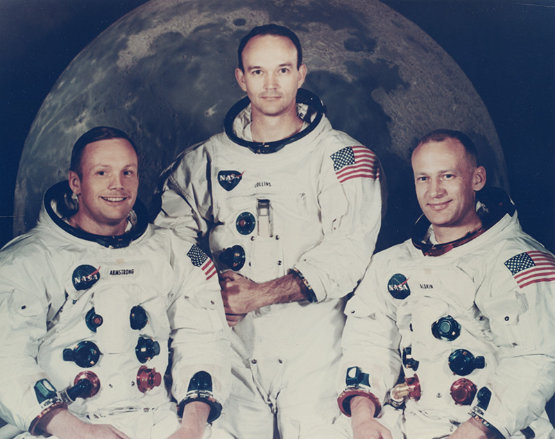 "<span class=""link fancybox-details-link""><a href=""/artists/133/series/apollo-11/34599-nasa-apollo-11-july-16-24-1969/"">View Detail Page</a></span><div class=""artist""><strong>NASA</strong></div> <div class=""title""><em>Apollo 11</em>, July 16-24, 1969</div> <div class=""signed_and_dated"">Printed circa 1970 from official NASA copy negative Provenance: Robert Elliott, Daytona, Florida; a former photographer who worked for General Electric</div> <div class=""medium"">Chromogenic print</div> <div class=""dimensions"">7 ½ x 9 ½ inch (19.05 x 24.13 cm) image<br /> 8 x 10 inch (20.32 x 25.40 cm) paper</div>"