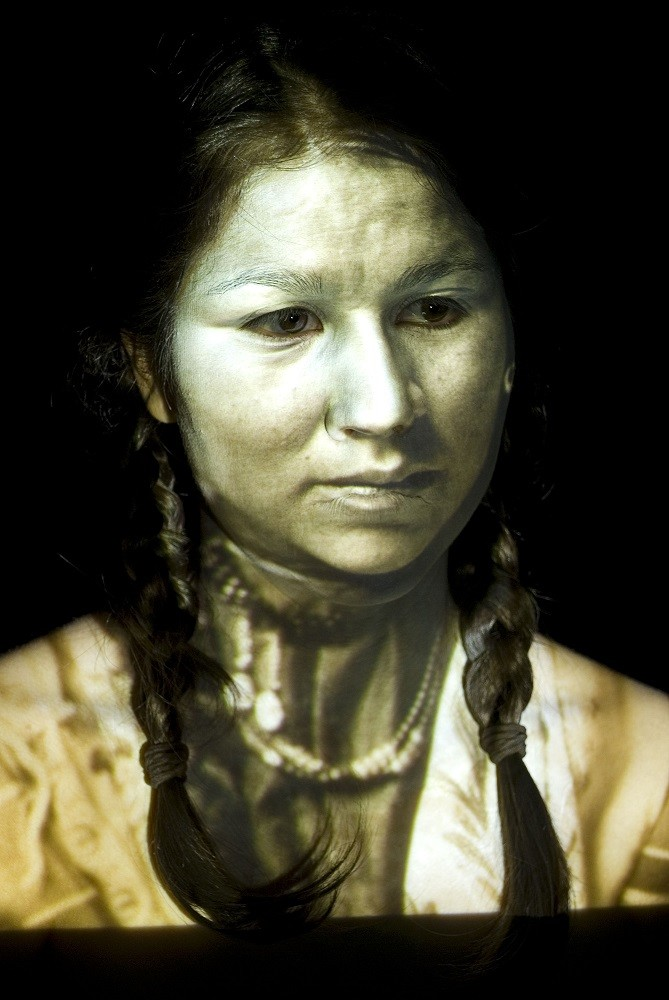 "<span class=""link fancybox-details-link""><a href=""/artists/122-meryl-mcmaster/works/32139-meryl-mcmaster-ancestral-6-2008/"">View Detail Page</a></span><div class=""artist""><strong>Meryl McMaster</strong></div> b. 1988 <div class=""title""><em>Ancestral 6</em>, 2008</div> <div class=""signed_and_dated"">From the series ""Ancestral""<br /> Signed, titled, dated, and editioned, au verso</div> <div class=""medium"">Chromogenic print</div> <div class=""dimensions"">30 x 40 inch (76.20 x 101.60 cm)</div> <div class=""edition_details"">Edition of 5 + 2 APs</div><div class=""copyright_line""> </div>"