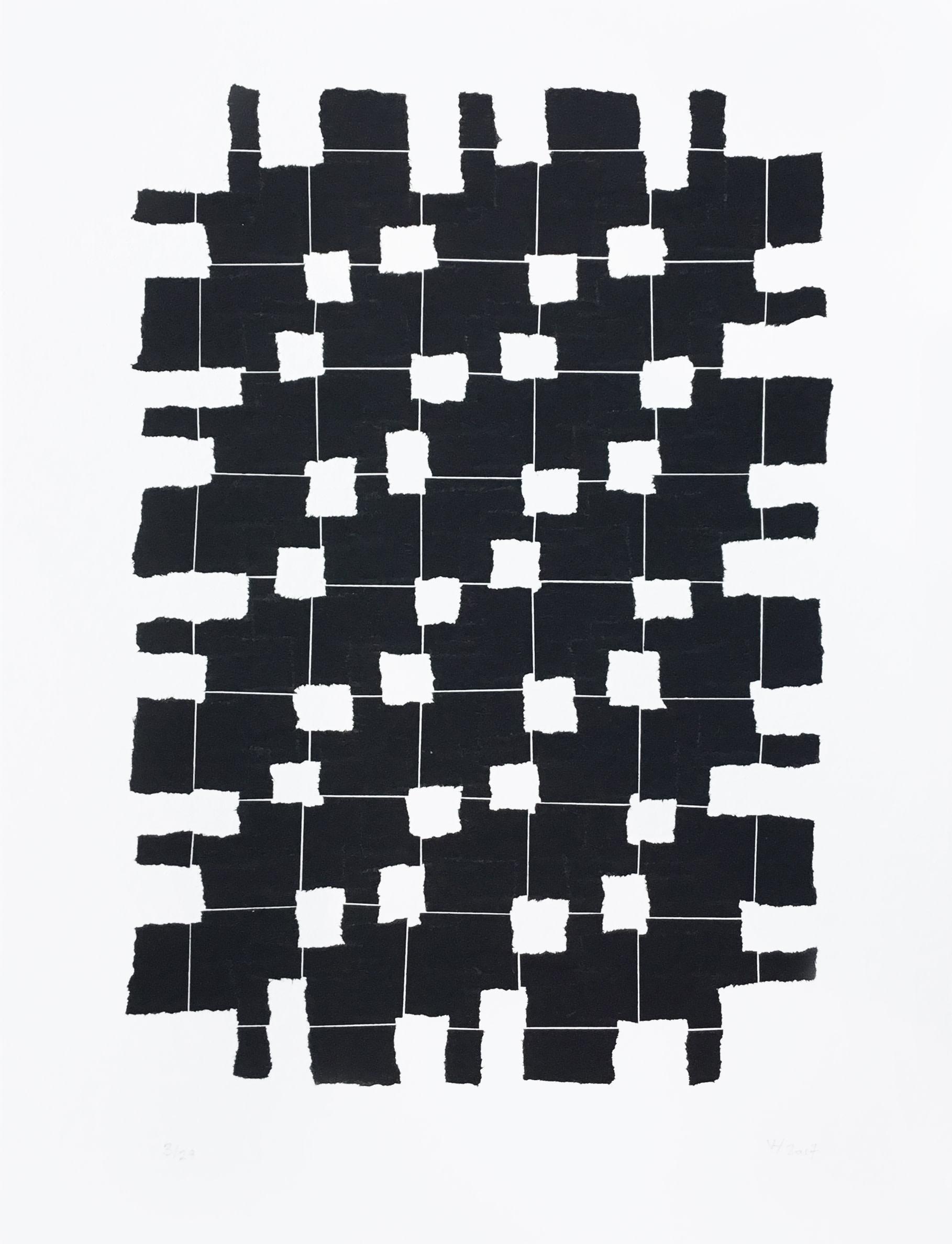 Veronica Herber, 8x5 Black Mod, 2017 | The Central