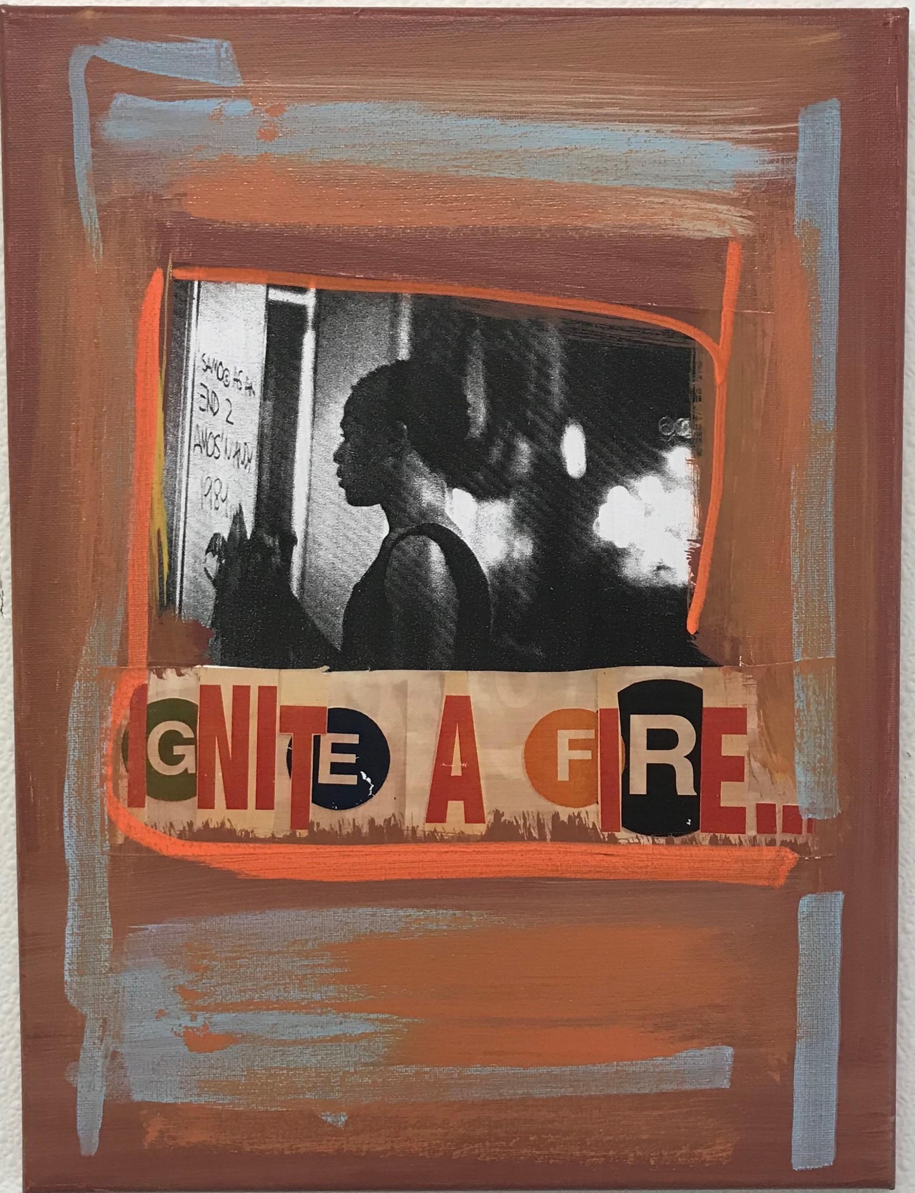 <span class=&#34;link fancybox-details-link&#34;><a href=&#34;/artworks/189-al-diaz-ignite-a-fire-2018/&#34;>View Detail Page</a></span><div class=&#34;artist&#34;><strong>Al Diaz</strong></div> <div class=&#34;title&#34;><em>Ignite a Fire</em>, 2018</div> <div class=&#34;medium&#34;>Mixed Media on Canvas</div> <div class=&#34;dimensions&#34;>12 x 16 in<br /> 30.5 x 40.6 cm</div>