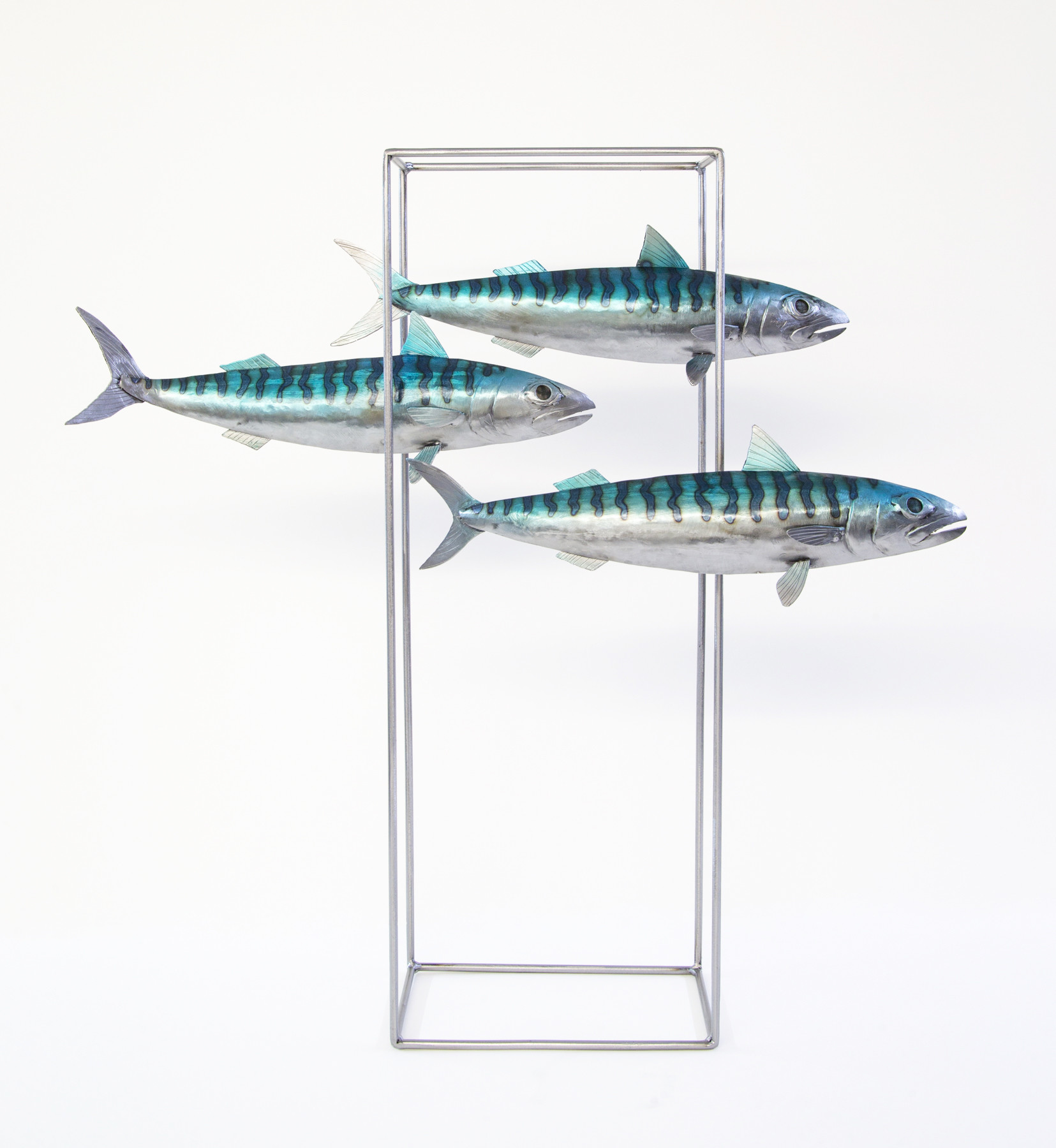 Kerry Whittle, Three Fish in Frame | Whitewater Gallery