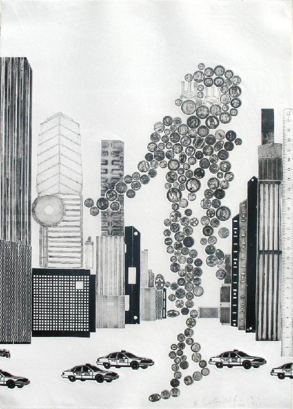 colin self money man 2000 whitford fine art