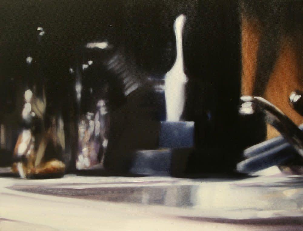 <span class=&#34;link fancybox-details-link&#34;><a href=&#34;/artists/14-rachel-lancaster/works/2416/&#34;>View Detail Page</a></span><div class=&#34;artist&#34;><strong>Rachel Lancaster</strong></div> <div class=&#34;title&#34;><em>Sink</em>, 2008</div> <div class=&#34;medium&#34;>Oil on Canvas</div> <div class=&#34;dimensions&#34;>35 x 46 cms<br />13.79 x 18.12 inches</div><div class=&#34;copyright_line&#34;>Copyright The Artist</div>