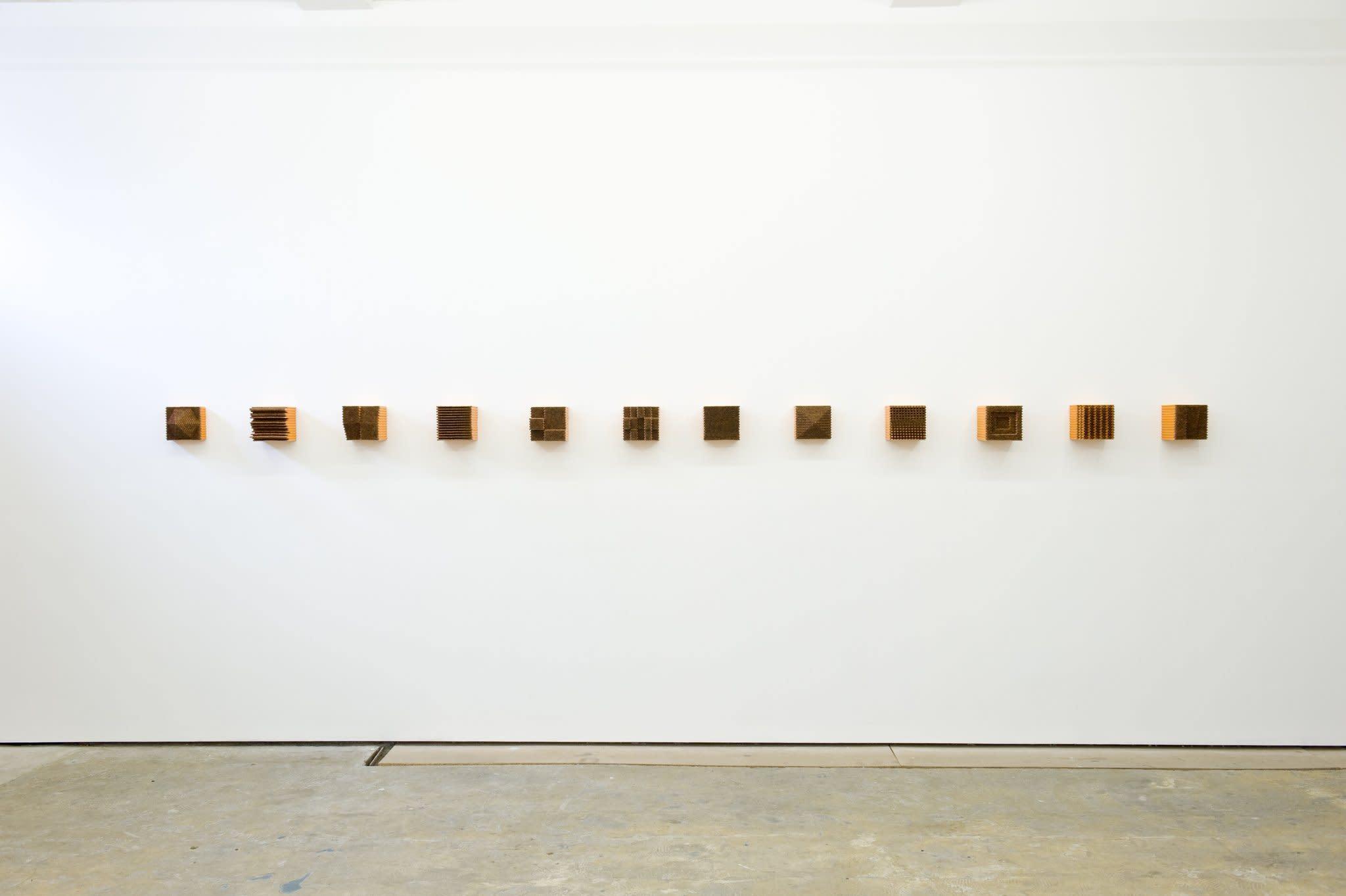 <span class=&#34;link fancybox-details-link&#34;><a href=&#34;/artists/44-jacob-dahlgren/works/7427/&#34;>View Detail Page</a></span><div class=&#34;artist&#34;><strong>Jacob Dahlgren</strong></div> <div class=&#34;title&#34;><em>Item 10, 12, 13, 14, 15, 17, 19, 20, 21, 22, 23, & 24; Subject of Art</em>, 2012</div> <div class=&#34;medium&#34;>Pencils</div> <div class=&#34;dimensions&#34;>each 17.5 x 17.5 x 17.5 cm<br />6 7/8 x 6 7/8 x 6 7/8 in</div><div class=&#34;copyright_line&#34;>Copyright The Artist</div>