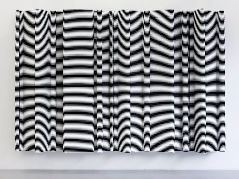 <span class=&#34;link fancybox-details-link&#34;><a href=&#34;/artists/44-jacob-dahlgren/works/7025/&#34;>View Detail Page</a></span><div class=&#34;artist&#34;><strong>Jacob Dahlgren</strong></div> <div class=&#34;title&#34;><em>Edinburgh 1968</em>, 2009</div> <div class=&#34;medium&#34;>Cloth hangers and aluminium</div> <div class=&#34;dimensions&#34;>200 x 300 cm<br />78 3/4 x 118 1/8 in</div><div class=&#34;copyright_line&#34;>Copyright The Artist</div>
