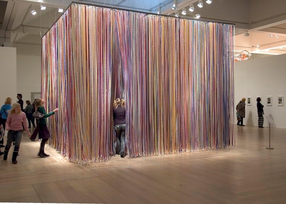 <span class=&#34;link fancybox-details-link&#34;><a href=&#34;/artists/44-jacob-dahlgren/works/6755/&#34;>View Detail Page</a></span><div class=&#34;artist&#34;><strong>Jacob Dahlgren</strong></div> <div class=&#34;title&#34;><em>The Wonderful World Of Abstraction</em>, 2006</div> <div class=&#34;medium&#34;>Silk Ribbons and Aluminium, <br />Moderna Museet, Stockholm</div><div class=&#34;copyright_line&#34;>Copyright The Artist</div>