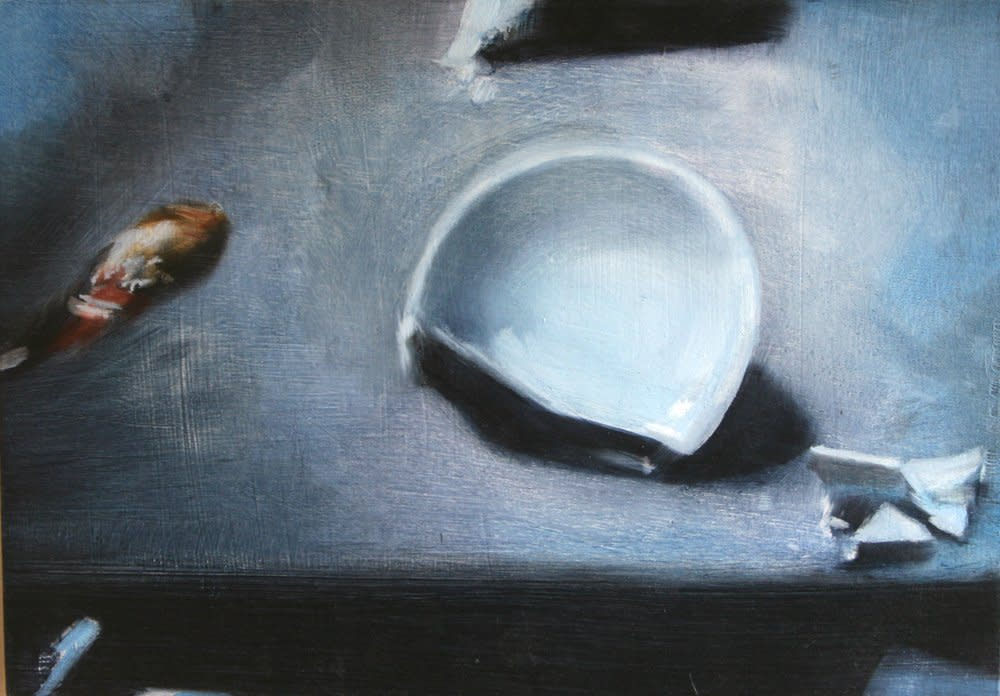 <span class=&#34;link fancybox-details-link&#34;><a href=&#34;/artists/14-rachel-lancaster/works/3820/&#34;>View Detail Page</a></span><div class=&#34;artist&#34;><strong>Rachel Lancaster</strong></div> <div class=&#34;title&#34;><em>Cup</em>, 2009</div> <div class=&#34;medium&#34;>Oil on Board</div> <div class=&#34;dimensions&#34;>21 x 30 cms<br />8.27 x 11.82 inches</div><div class=&#34;copyright_line&#34;>Copyright The Artist</div>