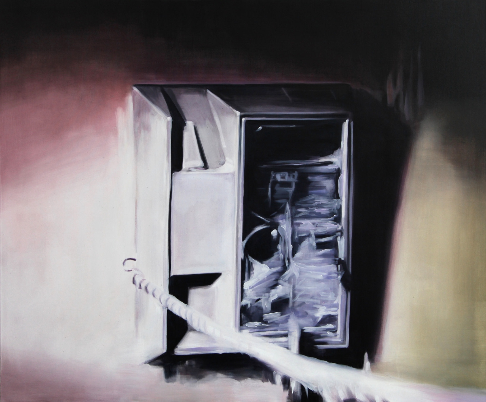 <span class=&#34;link fancybox-details-link&#34;><a href=&#34;/artists/14-rachel-lancaster/works/8789/&#34;>View Detail Page</a></span><div class=&#34;artist&#34;><strong>Rachel Lancaster</strong></div> <div class=&#34;title&#34;>untitled, 2015</div> <div class=&#34;medium&#34;>Oil on canvas</div> <div class=&#34;dimensions&#34;>154 x 183 cm<br />60 5/8 x 72 1/8 in</div><div class=&#34;copyright_line&#34;>Copyright The Artist</div>