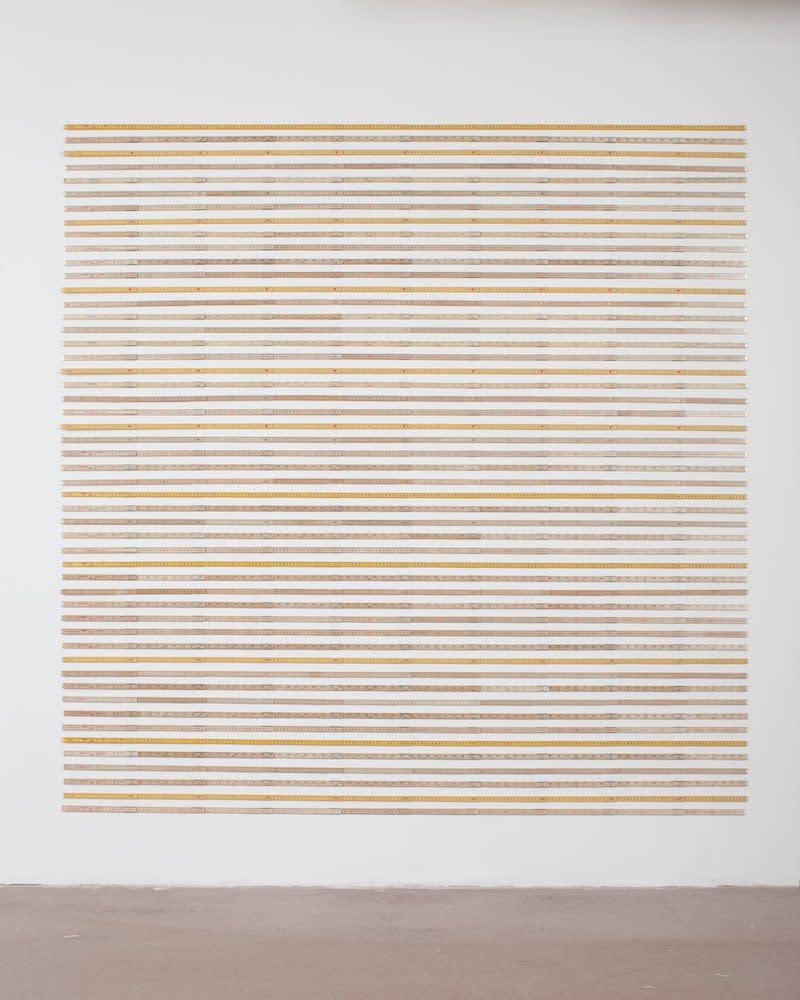 <span class=&#34;link fancybox-details-link&#34;><a href=&#34;/artists/44-jacob-dahlgren/works/7043/&#34;>View Detail Page</a></span><div class=&#34;artist&#34;><strong>Jacob Dahlgren</strong></div> <div class=&#34;title&#34;><em>Unit of Measurements</em>, 2011</div> <div class=&#34;medium&#34;>Folding rulers</div> <div class=&#34;dimensions&#34;>204 x 200 cm<br />80 1/4 x 78 3/4 in</div><div class=&#34;copyright_line&#34;>Copyright The Artist</div>