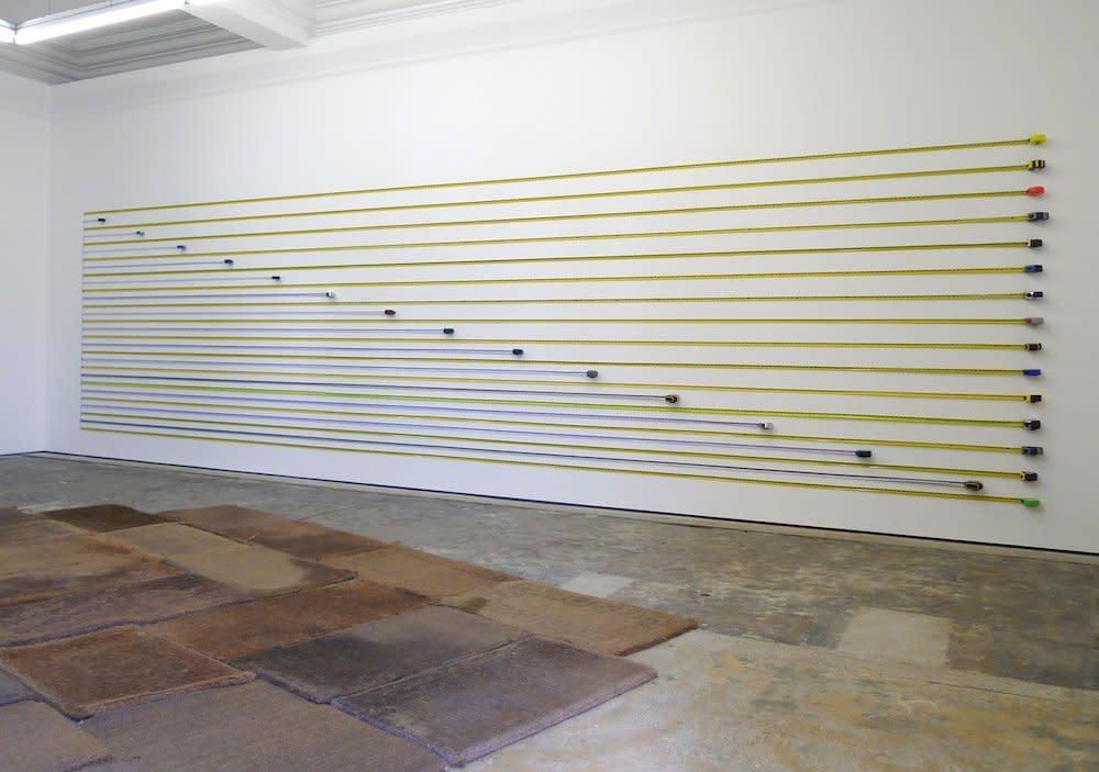 <span class=&#34;link fancybox-details-link&#34;><a href=&#34;/artists/44-jacob-dahlgren/works/7027/&#34;>View Detail Page</a></span><div class=&#34;artist&#34;><strong>Jacob Dahlgren</strong></div> <div class=&#34;title&#34;><em>Unit of Measurements</em>, 2011</div> <div class=&#34;medium&#34;>Tape Measures</div> <div class=&#34;dimensions&#34;>200 x 800 cm<br />78 3/4 x 315 in</div><div class=&#34;copyright_line&#34;>Copyright The Artist</div>
