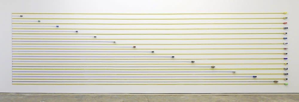 <span class=&#34;link fancybox-details-link&#34;><a href=&#34;/artists/44-jacob-dahlgren/works/6628/&#34;>View Detail Page</a></span><div class=&#34;artist&#34;><strong>Jacob Dahlgren</strong></div> <div class=&#34;title&#34;><em>Unit of Measurements</em>, 2011</div> <div class=&#34;medium&#34;>Tape Measures</div> <div class=&#34;dimensions&#34;>200 x 800 cm<br />78 3/4 x 315 in</div><div class=&#34;copyright_line&#34;>Copyright The Artist</div>