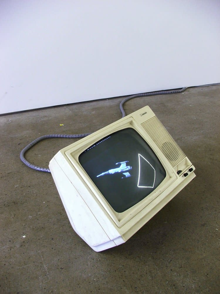 <span class=&#34;link fancybox-details-link&#34;><a href=&#34;/exhibitions/7/works/artworks75/&#34;>View Detail Page</a></span><div class=&#34;medium&#34;>Found Footage, TV Set, Safety Cable</div> <div class=&#34;dimensions&#34;>Dimensions Variable</div>