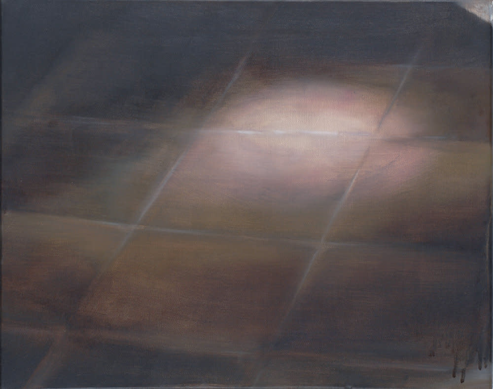 <span class=&#34;link fancybox-details-link&#34;><a href=&#34;/artists/14-rachel-lancaster/works/1644/&#34;>View Detail Page</a></span><div class=&#34;artist&#34;><strong>Rachel Lancaster</strong></div> <div class=&#34;title&#34;><em>Tiled Floor</em>, 2007</div> <div class=&#34;medium&#34;>Oil on Canvas</div> <div class=&#34;dimensions&#34;>40 x 50 cms<br />15.76 x 19.7 inches</div><div class=&#34;copyright_line&#34;>Copyright The Artist</div>